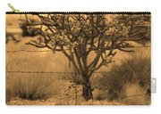 Sepia Cacti Roadside Carry-all Pouch
