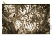 Sepia Finch Carry-all Pouch