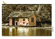 Sepia Floating House Carry-all Pouch