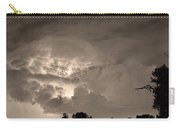 Sepia Light Show Carry-all Pouch by James BO  Insogna