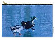 Sepia Mallard Friends Carry-all Pouch