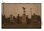 Sepia Morning Fog Carry-all Pouch