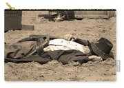 Sepia Rodeo Gunslinger Victim Carry-all Pouch