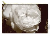 Sepia Rose Carry-all Pouch