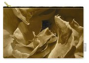 Sepia Rose Close Up Carry-all Pouch