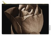 Sepia Rose Portrait 2 Carry-all Pouch