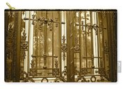 Sepia Spanish Door Carry-all Pouch