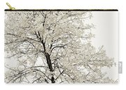 Sepia Square Tree Carry-all Pouch