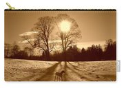 Sepia Sunrise Carry-all Pouch