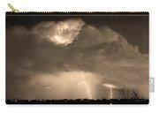 Sepiathunderstorm Boulder County Colorado   Carry-all Pouch
