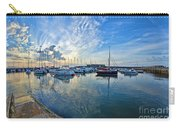 September Morning At Lyme Regis Carry-all Pouch