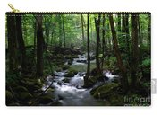 Serene Greenbrier Area Stream  Carry-all Pouch