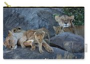 Serengeti Pride Carry-all Pouch