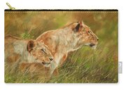 Serengeti Sisters Carry-all Pouch