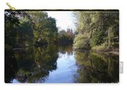 Serenity Pond Reflection At Limehouse Ontario Carry-all Pouch
