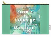 Serenity Prayer 1 - By Sharon Cummings Carry-all Pouch