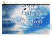 Serenity Prayer 3 - By Sharon Cummings Carry-all Pouch