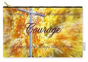 Serenity Prayer II By Bobbee Rickard Carry-all Pouch