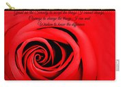 Serenity Rose Carry-all Pouch