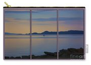 Serenity Tryptych Carry-all Pouch