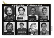 Serial Killers - Public Enemies Carry-all Pouch