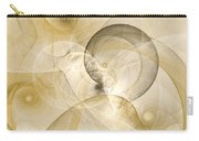 Series Abstract Art In Earth Tones 3 Carry-all Pouch