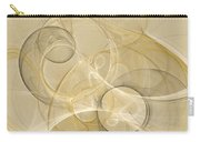 Series Abstract Art In Earth Tones 4 Carry-all Pouch