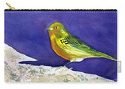 Serinus  Canaria  Aka The Canary Carry-all Pouch