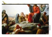 Sermon On The Mount Watercolor Carry-all Pouch