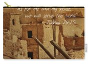Serve The Lord Carry-all Pouch