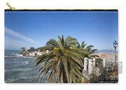 Sestri Levante And Palm Tree Carry-all Pouch