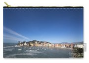 Sestri Levante With The Sea And Blue Sky Carry-all Pouch