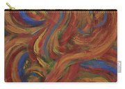 Set To Music - Original Abstract Painting Painting - Affordable Art Carry-all Pouch
