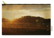 Setting Sun Abstract Carry-all Pouch
