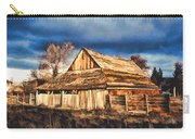 Setting Sun Gathering Storm And Old Homestead Carry-all Pouch