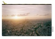 Setting Sun Over Paris Carry-all Pouch