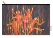 Setting The Stage On Fire Carry-all Pouch