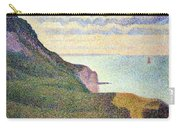 Seurat's Seascape At Port Bessin In Normandy Carry-all Pouch