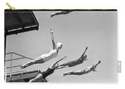 Seven Champion Diving In La Carry-all Pouch
