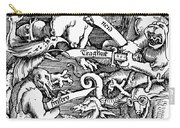 Seven Deadly Sins, 1511 Carry-all Pouch