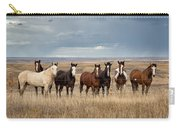 Seven Horses On The Range Carry-all Pouch