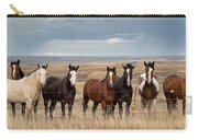 Seven Horses On The Range Pan Carry-all Pouch