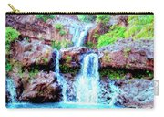Seven Sacred Pools Maui Carry-all Pouch