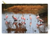 Seven Spoonbills Carry-all Pouch