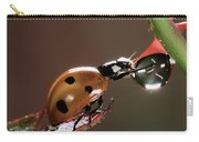 Seven-spotted Ladybird Coccinella Carry-all Pouch