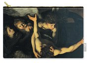 Seven Works Of Mercy Carry-all Pouch by Caravaggio