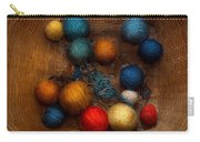 Sewing - Knitting - Yarn For Cats Carry-all Pouch by Mike Savad