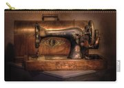 Sewing Machine  - Singer  Carry-all Pouch by Mike Savad