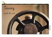 Sewing Mends The Soul Carry-all Pouch