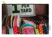 Sewing - Ribbon By The Yard Carry-all Pouch by Mike Savad